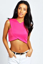 Lily Crop Top at Boohoo