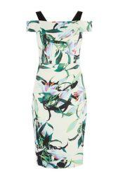 Lily Print Pencil Dress at Karen Millen