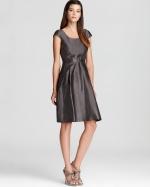 Lily's grey metallic dress at Bloomingdales at Bloomingdales