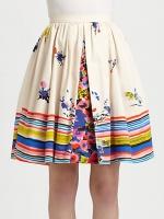 Lilys printed skirt at Saks at Saks Fifth Avenue