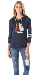 Mindys sail boat hoodie at Shopbop