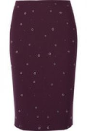 Lima grommet-embellished cady skirt at The Outnet