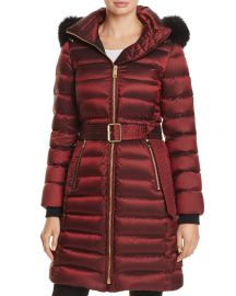 Limefield Fur Trim Hooded Puffer Coat by Burberry at Bloomingdales