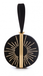 Limited Edition sun circle clutch by DvF at Shopbop