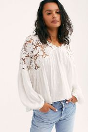 Lina Lace Top at Free People
