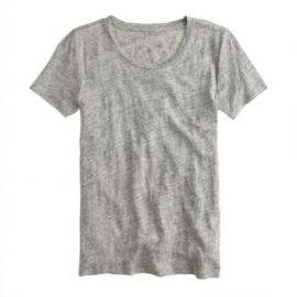 Linen T-shirt at J. Crew