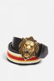 Lion Buckle Waist Belt at Topshop