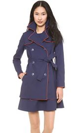 Lisa Perry Piped Trench Coat at Shopbop