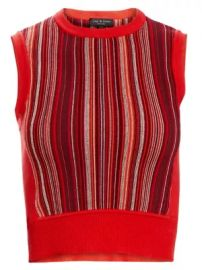 Lisse Stripe Knit Tank Top at Saks Fifth Avenue