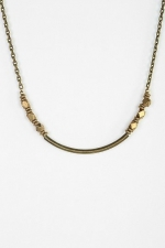 Little Ways Anti Bronze Nugget Necklace by Vanessa Mooney at Urban Outfitters
