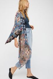 Little Wing Mix Print Kimono at Free People