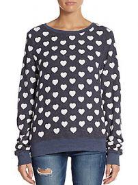 Little heart sweatshirt at Saks Off 5th
