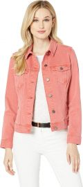 Liverpool Women s Classic Jean Jacket High Performance Denim at Amazon