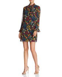Livia Floral Dot Ruffle Shirt Dress at Bloomingdales