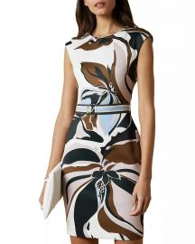 Liziiey Masquerade Print Bodycon Dress by Ted Baker at Bloomingdales