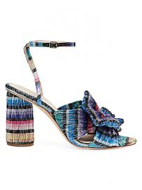 Loeffler Randall - Camellia Knotted Lam   Sandals at Saks Fifth Avenue