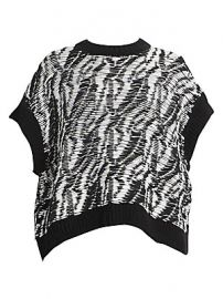Loewe - Textured Short-Sleeve Sweater at Saks Fifth Avenue
