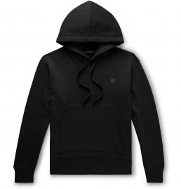 Logo-Appliqued Hoodie by Acne Studio at Net A Porter