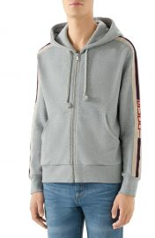 Logo Stripe Hoodie by Gucci at Nordstrom