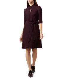 Lois Keyhole Belted Dress by Hobbs London at Bloomingdales