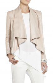 Lola leather jacket at Bcbg