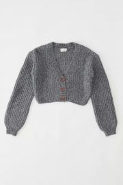 Lolli cropped cardigan at Urban Outfitters