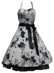 London Vintage Floral Dress at Amazon