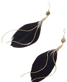 Lone Feather Earring at Free People