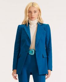 Long  Lean Dickey Jacket at Veronica Beard