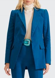 Long  Lean Dickey Jacket by Veronica Beard at Bergdorf Goodman