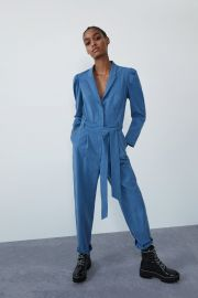 Long Belted Jumpsuit by Zara at Zara