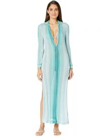 Long Lurex Coverup Caftan by Missoni Mare at Zappos