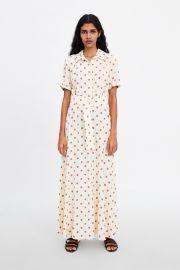 Long Polka Dot Dress by Zara at Zara
