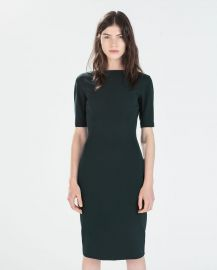 Long Shift Dress at Zara