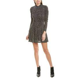Long Sleeve Cheetah Dress by Rebecca Taylor at Gilt