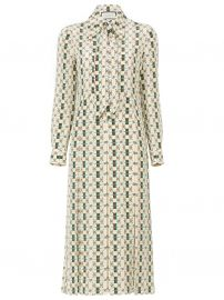 Long Sleeve Logo Dress by Gucci at The Webster