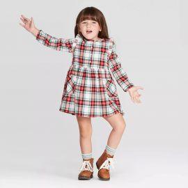 Long Sleeve Plaid Dress at Target