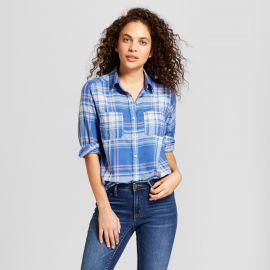 Long Sleeve Plaid Shirt by Target at Target
