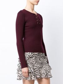 Long Sleeve Pullover With Barbells at Farfetch