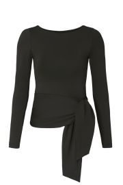 Long Sleeve Tied Top by Susana Monaco at Rent the Runway