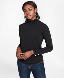 Long-Sleeve Turtleneck T-Shirt at Brooks Brothers