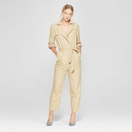 Long Sleeve Utility Jumpsuit at Target