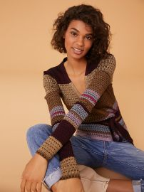 Long Sleeve Wrap Sweater at Orchard Mile