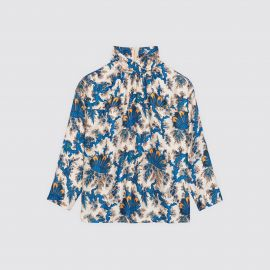 Long Sleeved Printed Top by Sandro at Sandro