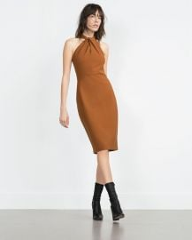 Long Tube Dress at Zara