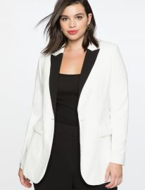 Long Tuxedo Jacket at Eloquii