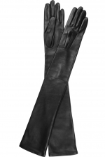 Long leather gloves by Lanvin at Net A Porter