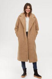 Long pile coat at H&M