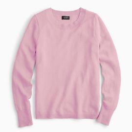 Long-sleeve everyday cashmere crewneck sweater at J. Crew