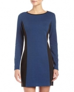 Long sleeve panel dress by Laundry by Shelli Segal at Last Call